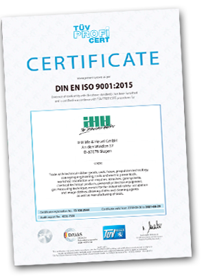 Download IHH DIN ISO9001 2015en